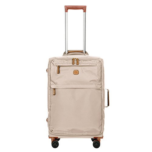 Ultralight Wheeled Upright - Bric's X-Bag/x-Travel 25 Inch Medium Spinner W/Frame, Papyrus