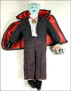 Grandpa Munster The Munsters Plush Toy Doll by Toy Works (Grandpa Munsters)