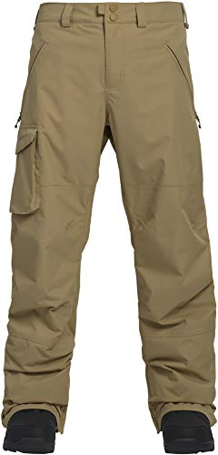 Burton Men's Covert Pant, Kelp, Small (Khaki Snowboard Pants)