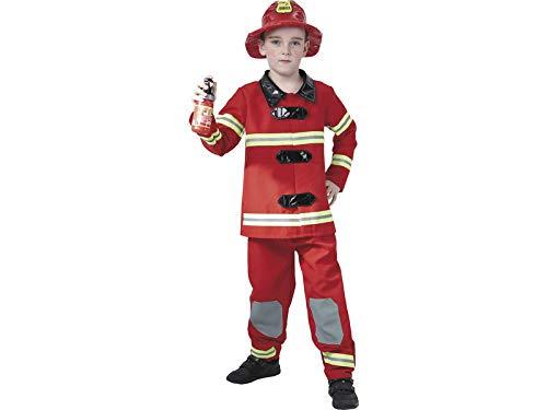 DISONIL Disfraz Bombero Niño Talla S: Amazon.es: Juguetes y juegos