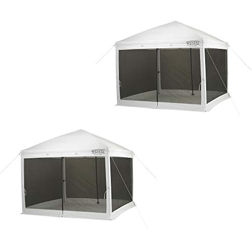 Wenzel Smartshade 10' x 10' Tailgating Picnic Pop Up Screen