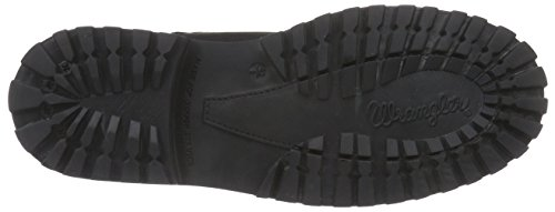 Wrangler Yuma - Botas de piel para hombre negro - Schwarz (62 Black)