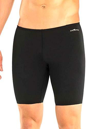 Dolfin Men's Reliance Solid Jammer Swimsuit (Black, 26) ()