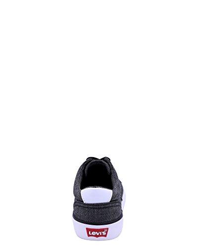 Levis Menns Fowler Chambray Sneaker Svart