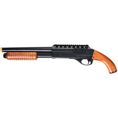 DOUBLE EAGLE 320 FPS METAL PUMP SPRING AIRSOFT SAWED OFF SHOTGUN GUN w/ BB BBs