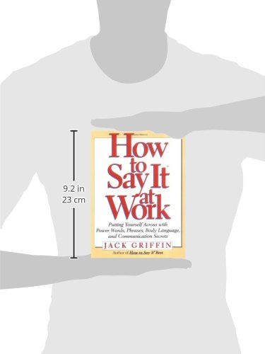 How to Say It At Work: Putting Yourself Across with Power Words, Phrases, Body Language, and Communication Secrets by Prentice Hall Press