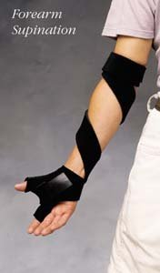 Comfort Cool Pronation Supination, Size: Medium, Left by North Coast Medical