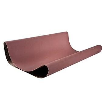 Medium Grade Brown Pack of 10 VSM 88305 Abrasive Belt 132 Length Cloth Backing 100 Grit 6 Width Aluminum Oxide