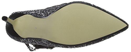 Dorothy Perkins 19951062, Zapatos de Tacón Mujer Plateado (Pewter)