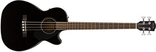 Fender CB-60SCE Acoustic-Electric Bass Guitar – Black Finish