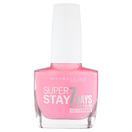 Maybelline Superstay 7 Days Gel Nail Colour 120 Flowery Pink by Maybelline