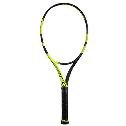 Babolat Pure Aero Yellow/Black Tennis Racquet, 4 1/4