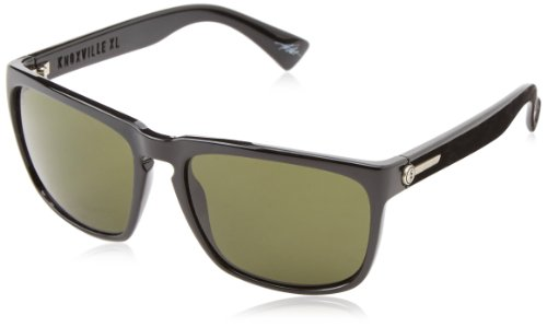Electric Visual Knoxville XL Gloss Black/OHM Grey - Electric Sunglasses