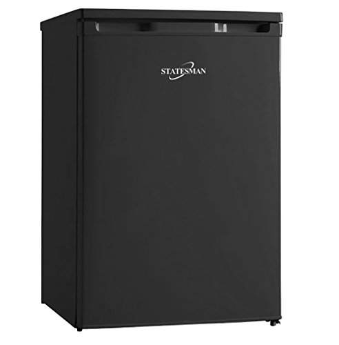 Statesman U355B Under Counter Freezer, 55cm, Black