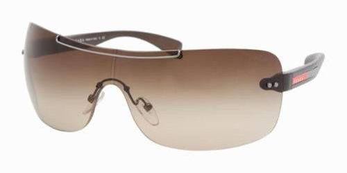 PRADA SUNGLASSES SPS 02M BROWN BRS-6S1 (6s1 Prada Sunglasses)