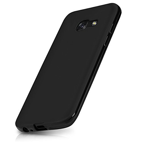 A3 Matt (kwmobile Chic TPU Silicone Case for the Samsung Galaxy A3 (2017) in black matt)