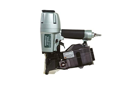 Metabo HPT NV65AH2 Coil Siding Nailer, 1-1/2″ to 2-1/2″ Nails, Wire/Plastic Sheet Collation, 5 Year Warranty