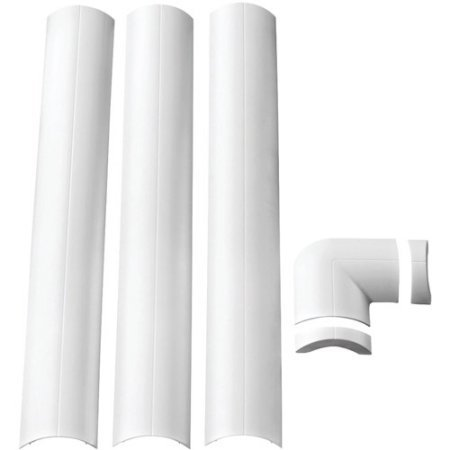 (Omnimount Mini CMK Wall-Mounted Cable Management System White)