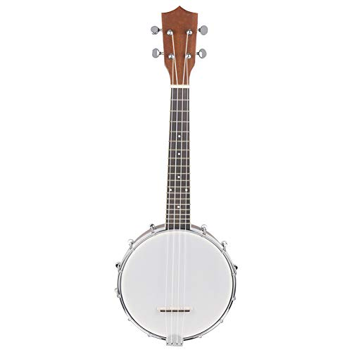 NUYI Banjo 4 String Sapele Banjos Classic Style Professional Musical Instrument