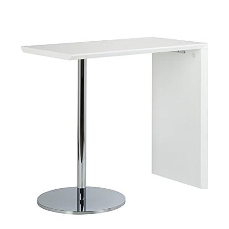 Fredriks Bartisch Pierre Hochglanz Weiß Tisch Bar Küchentisch ...