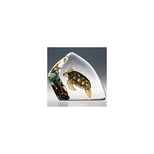 Mats Jonasson Sea Turtle Crystal MAT33943