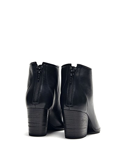 Poi Lei PoiLei Stella - Damen Schuhe/Sommer-Stiefelette - Ankle Boot mit Trichterabsatz Schwarz