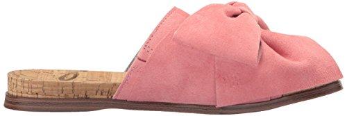 Sam Edelman Women's Henna Sandal, Black Sugar Pink Suede