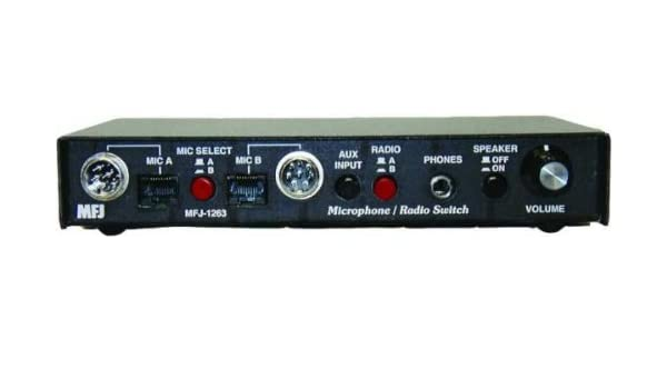 MFJ-1263 Microphone control center 2-in//2-out
