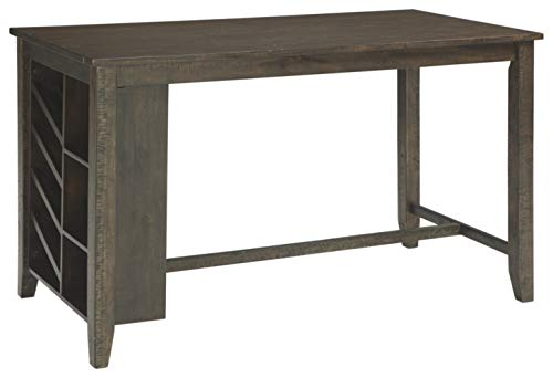 Signature Design by Ashley D397-32 Rokane Counter Height Dining Room Table, Brown (Dining Clearance Tables Room)