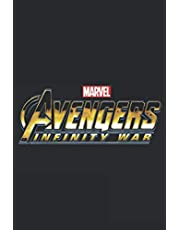 Avengers Infinity War Grungy Alternate Logo: Notebook Planner - 6x9 inch Daily Planner Journal, To Do List Notebook, Daily Organizer, 114 Pages
