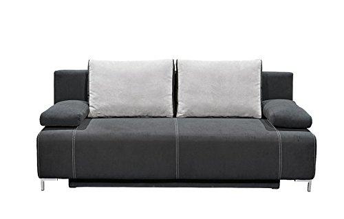 Avanti trendstore divano letto con cassettone nero ca - Divano letto con cassettone ...
