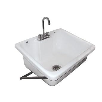 Wall Mounted Mop Sink (1 Sink)