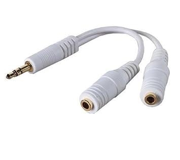 BELKIN Cable separador para auriculares o altavoces