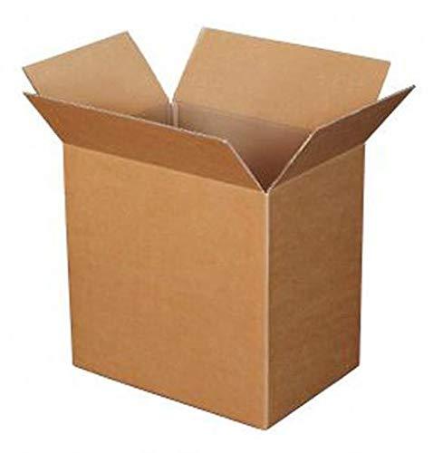 Neuf solide Extra Large double Mur en carton Boîtes de carton d'emballage pour le transport d'expédition de stockage de transport Heavy Duty Choix votre quantité 60cm x 40cm x 40cm 61x 40,6x 40,6cm, 1