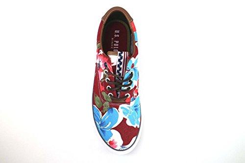 Homme U.S Polo Assn. Sneakers/Basket Mode Multicouleur Textile AM826 (45 EU)