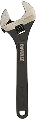 DEWALT DWHT70290 Heavy Duty Adjustable wrench 8 inch