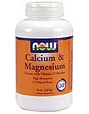 Now Foods Cal-Mag, w/CITRATE POWDER, 8 OZ (Pack of 2)