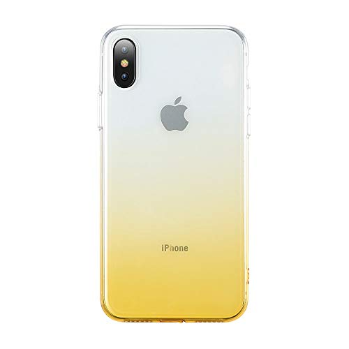 (Fitted Cases - Gradient Soft Case For Iphone 7 8 6 Plus Ultra Thin Clear Cover For Iphone 6 6s Plus Phone Case For Iphone X 10 5 5s - For Xs Max (6.5) Gold - Protein Charger P Universal Sofa)