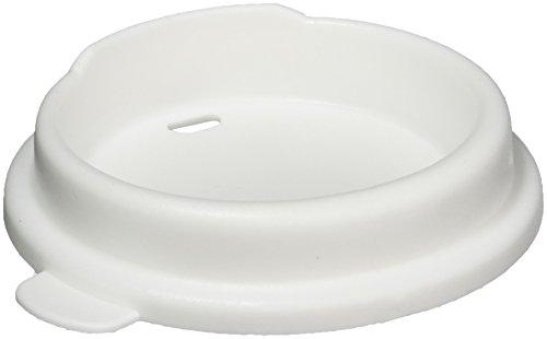 Sammons Preston Mug/ Tumbler Lids, Package of 6, Drinking Aid Regulates Flow of Liquid to Prevent Splashes & Spills
