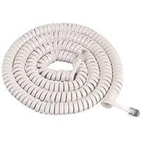 WMU GCHA444025-FWH / 25 White Handset Cord