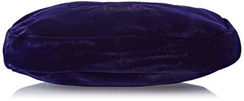 Alpenflüstern Damen Trachtentasche Herziger Hirsch Umhängetasche, Blau (Blau), 3x18x18 cm