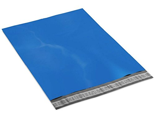 Premium quality 2.5 mil thickness Poly Mailer Bags 10 x 13 ( 10x13 ). Pack of 20. Self Sealing large size Blue mailing bag. Packaging & shipping envelopes. Christmas Sale & Gift Wrap. Heavy duty. (Christmas Envelope Labels)
