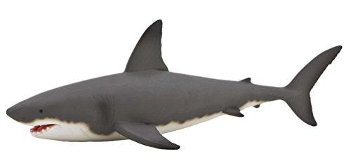 MOJO Fun 387120 Great White Shark - Realistic Marine Sea Life Animal Replica (Whale Great White)