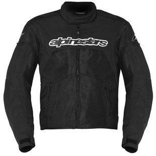 Alpinestars T-GP Plus Air Jacket , Size: 2XL, Primary Color: Black, Gender: Mens/Unisex, Apparel Material: Textile 3300112-10-2XL