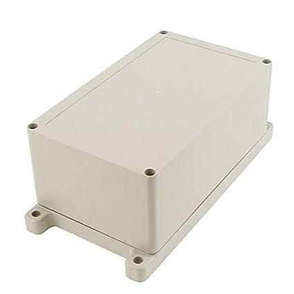 eDealMax 200 x 120 x 90 mm a prueba de agua caja de conexiones de bricolaje
