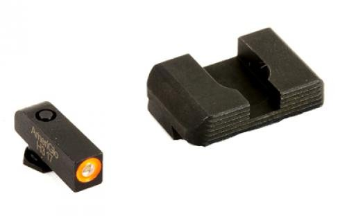 AmeriGlo GL-436  Hackathorn Sight Set for Glock 42/43, Green/Orange by AmeriGlo (Image #1)