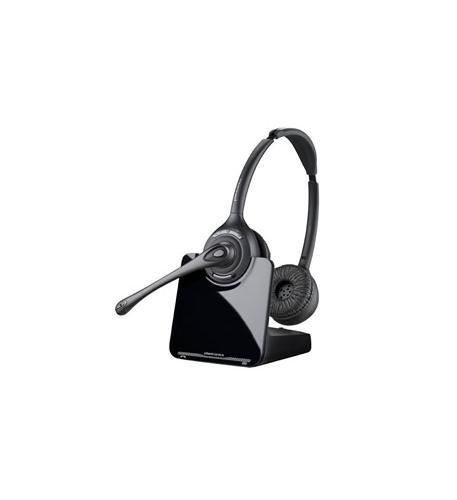 [해외]플랜트로닉CS520 바이노럴 오버더헤드 무선 헤드셋 / Plantronics CS520 Binaural Over-the-Head Wireless Headset