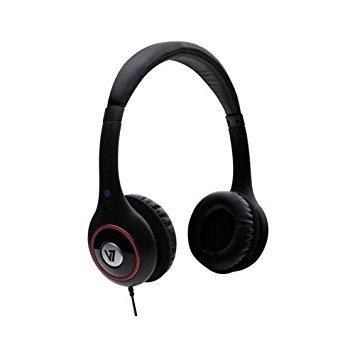 V7 HA510-2NP Headphone With Volume Control - Studio hi-fi sound quality - Ergonomic and adjustable headband