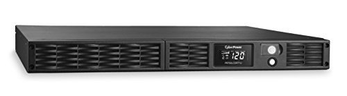 CyberPower PR750LCDRT1U Smart App Sinewave UPS System, 750VA/600W, 7 Outlets, AVR, 1U Rack/Tower