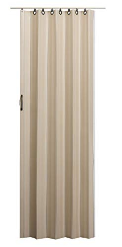 LTL Home Products NV3680L Nuevo Interior Accordion Folding Door 36 x 80 Inches Linen